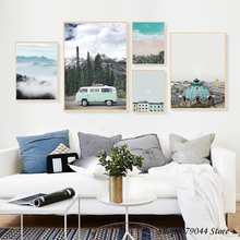 Landscape Painting Wall Art Canvas Print Posters And Prints Nordic Poster Ocean Pictures For Living Room Unframed