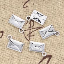 8pcs Charms letter envelope 15*11mm Antique Making pendant fit,Vintage Tibetan Silver,DIY bracelet necklace(China)