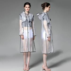 Transparent Raincoat...