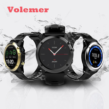 New H2 Smart Watch MTK6572 IP68 Waterproof 1.39inch 400*400 GPS Wifi 3G Heart Rate Monitor 4GB+512MB For Android IOS Camera 500W