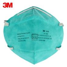 Фотография 5pc 3M 9132 Surgical Masks Anti Particulate Influenza Virus N95 Dust Mask hospital CDC Dust Masks Particles Medical Particulate