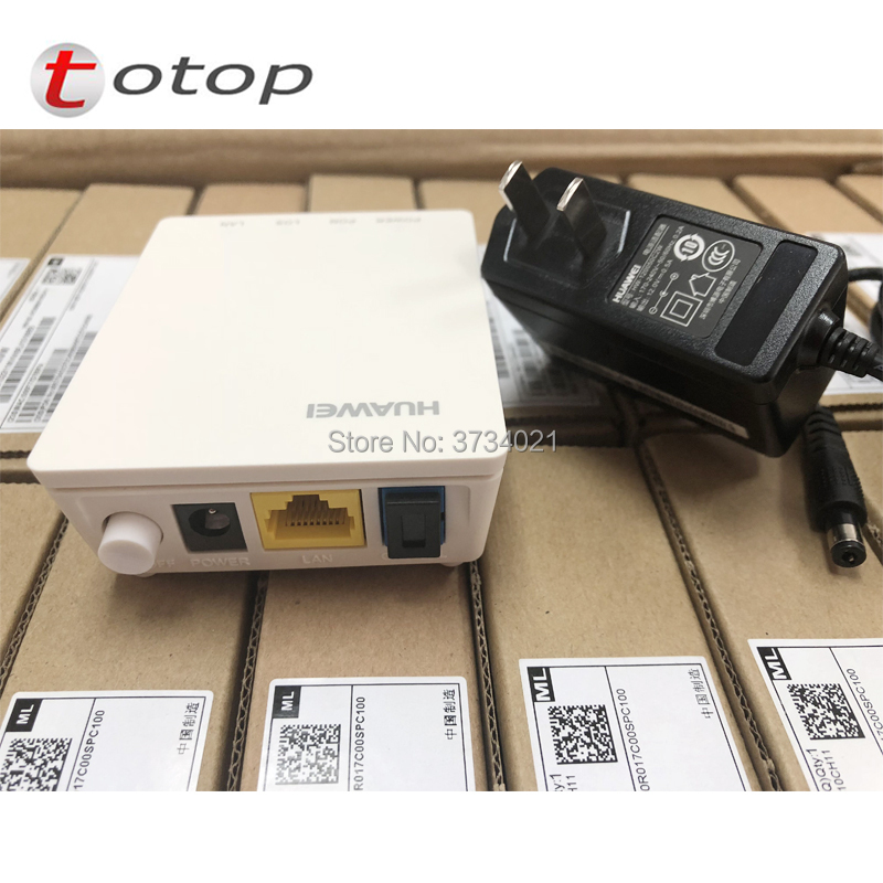 Ont Communication Equipments Nice Hottest 100% New 5pcs Hua Wei Hg8010h Terminal Wireless Epon Onu With 1 Ge Ethernet Ports Apply To Ftth Mode Class C
