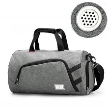 b032442748 35L Canvas Men Sports Bag For Gym Large Women Training Bag Outdoor Camping  Storage bag Basketball fitness Crossbody Luggage Bags
