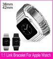 2016 настоящее 1:1 Origianl черный серебряный браслет ссылка для Apple , часы стальной ленты 42 мм удалить ссылки без каких-либо инструментов