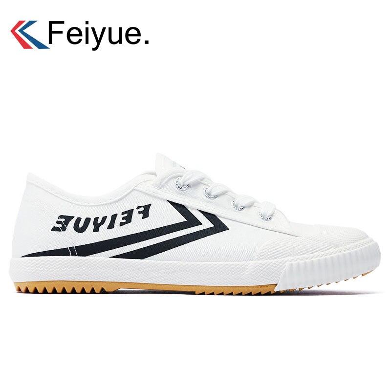 Feiyue Men Women Canvas Shoes New Walking Classic Sneakers Men Martial Arts KungFu Shoes Skateboarding Shoes Flat Sneakers