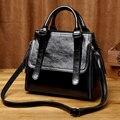 2019 frauen Aus Echtem Leder Handtaschen Luxus Marke Designer Handtaschen Frauen Schulter Taschen Für Frauen satchel Kette hand Tasche T16