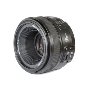Image 2 - YONGNUO YN 50 مللي متر YN50mm f/1.8 AF عدسة + عدسة هود + فلتر الأشعة فوق البنفسجية + عدسة حالة مجموعة السيارات التركيز لنيكون كاميرات AF S 50 مللي متر 1.8G