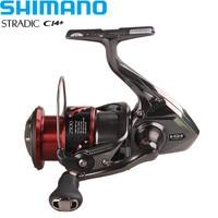Shimano Reel STRADIC CI4+1000HG/2500HG/C3000HG 6.0:1/6+1BB Hagane Gear X Ship Saltwater Spinning Fishing Reel Moulinet Peche