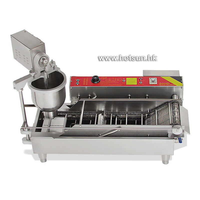 Automatic Doughnut Factory: Free Shipping Professional 800pcs/H Electric Automatic