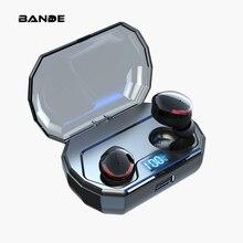 Casque sans fil de haute qualité sans blesser les écouteurs intra auriculaires sport sans fil Bluetooth écouteurs avec micro pour tous les téléphones intelligents
