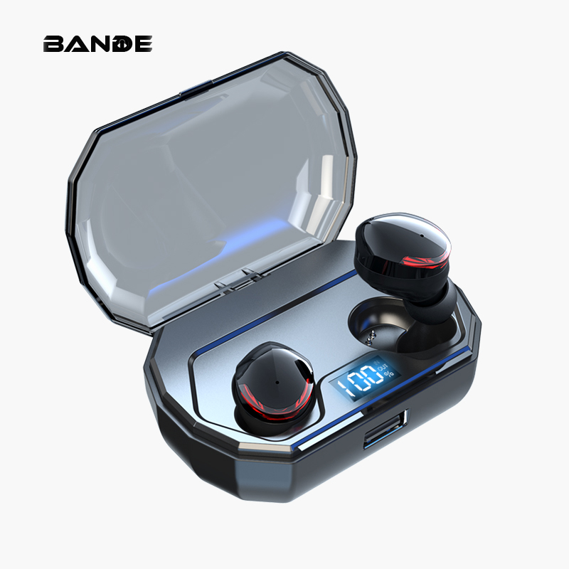High Quality Wireless Headset  Without Hurting Earphone In Ear Sports  Wireless Bluetooth Earbuds With Mic For All Smart Phone-in Bluetooth Earphones & Headphones from Consumer Electronics