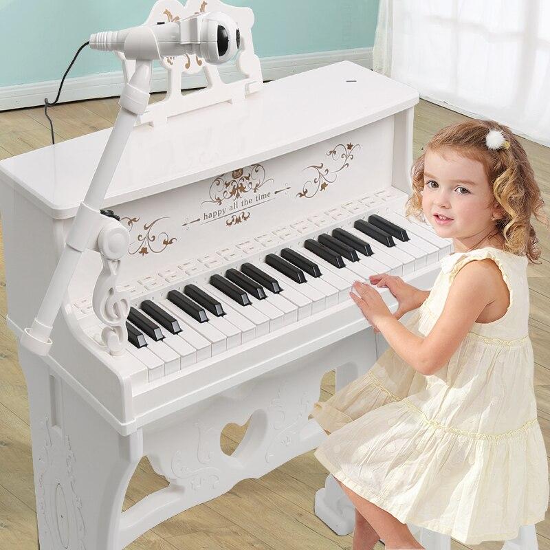 Clavier pour enfants piano débutant 3-6-12 ans jouets multi-fonction garçons et filles cadeaux musique jouets cadeaux d'anniversaire