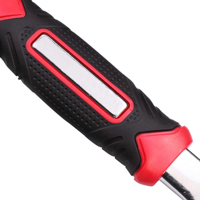 Chave de tigre 8 em 1 ferramentas socket funciona com parafusos spline torx 360 graus 6-point universial móveis reparação de carro 25cm apenas vermelho