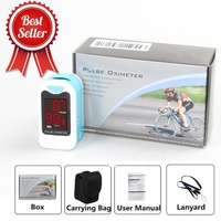 CONTEC CMS50M New Fingertip Pulse Oximeter Blood Oxygen Saturation SPO2 Heart Rate Monitor