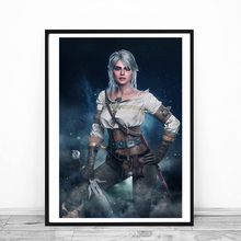The Witcher 3 Wild Hunt Ciri Wall Art Canvas Poster And Print Canvas Painting Decorative Picture For Office Bedroom Home Decor все цены