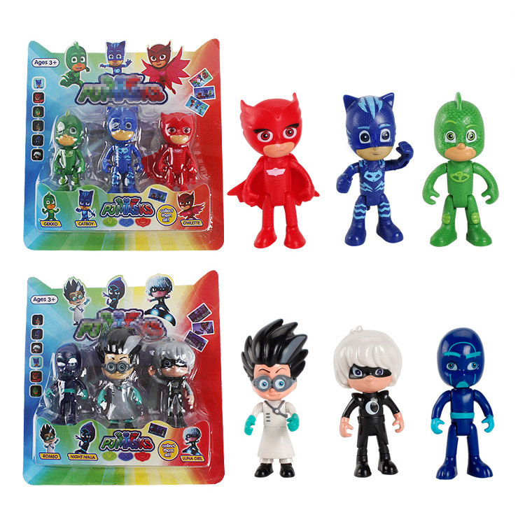 3-6pcs-set-pj-oyuncak-masks-anime-action-figures-pjmask-kids-toys-for-children-boys-pyjamasque-model