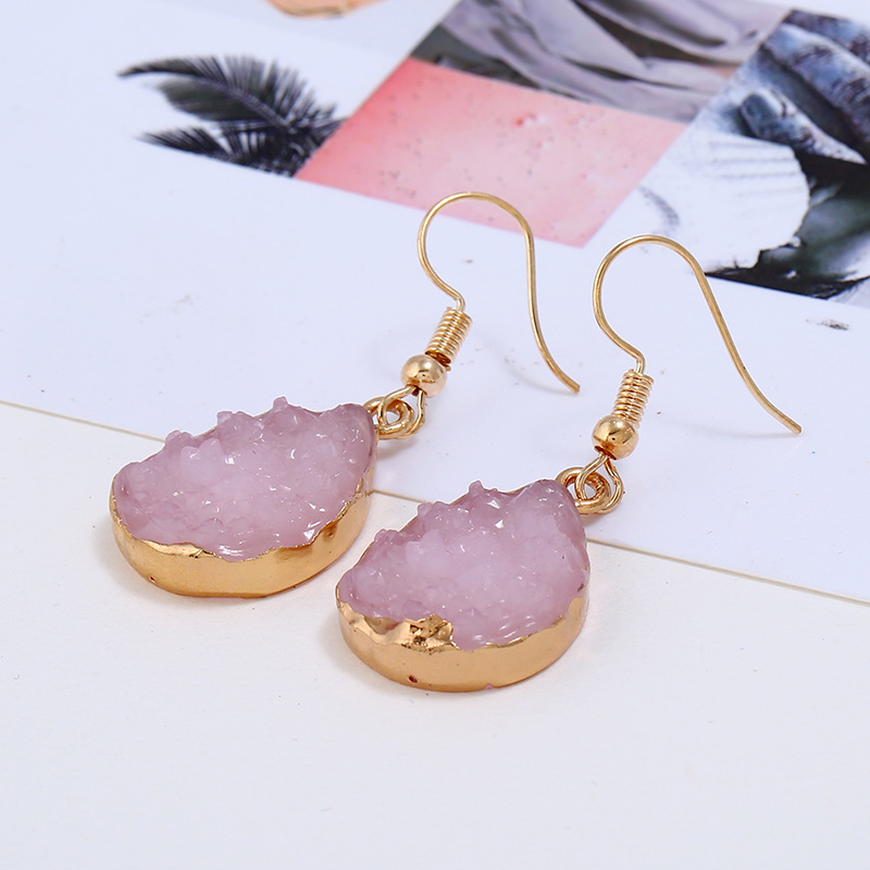 Water Drop Korean Earrings
