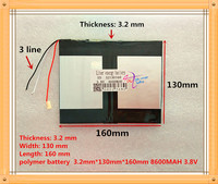 The Tablet Battery 32130160 8600mah 3 8V Polymer Lithium Ion Li Ion Battery For Tablet Pc