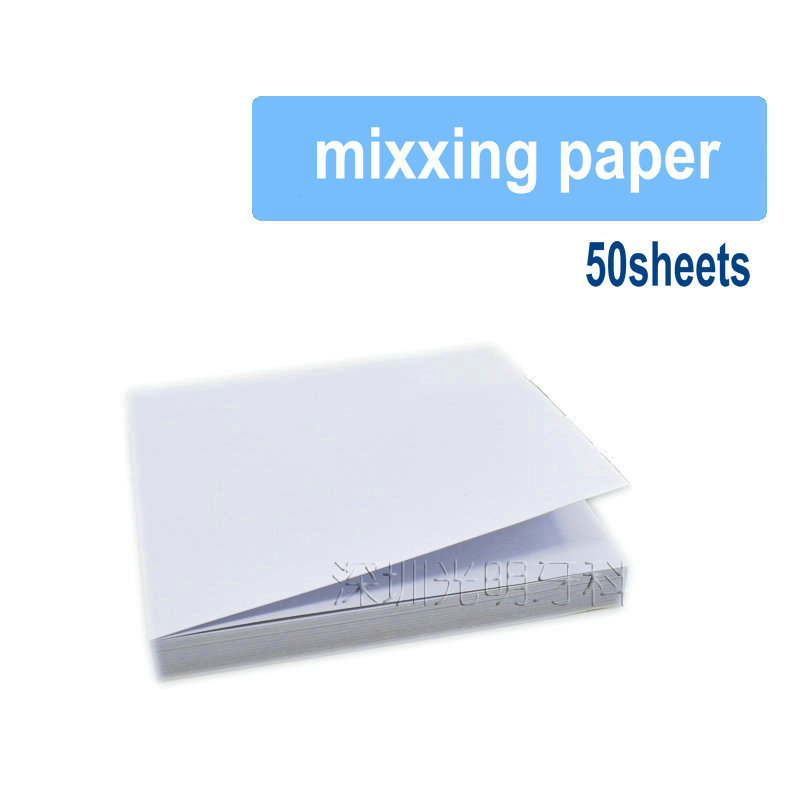 Dental Mixxing Pan Mixxing Paper 76mmx76mm 500sheets