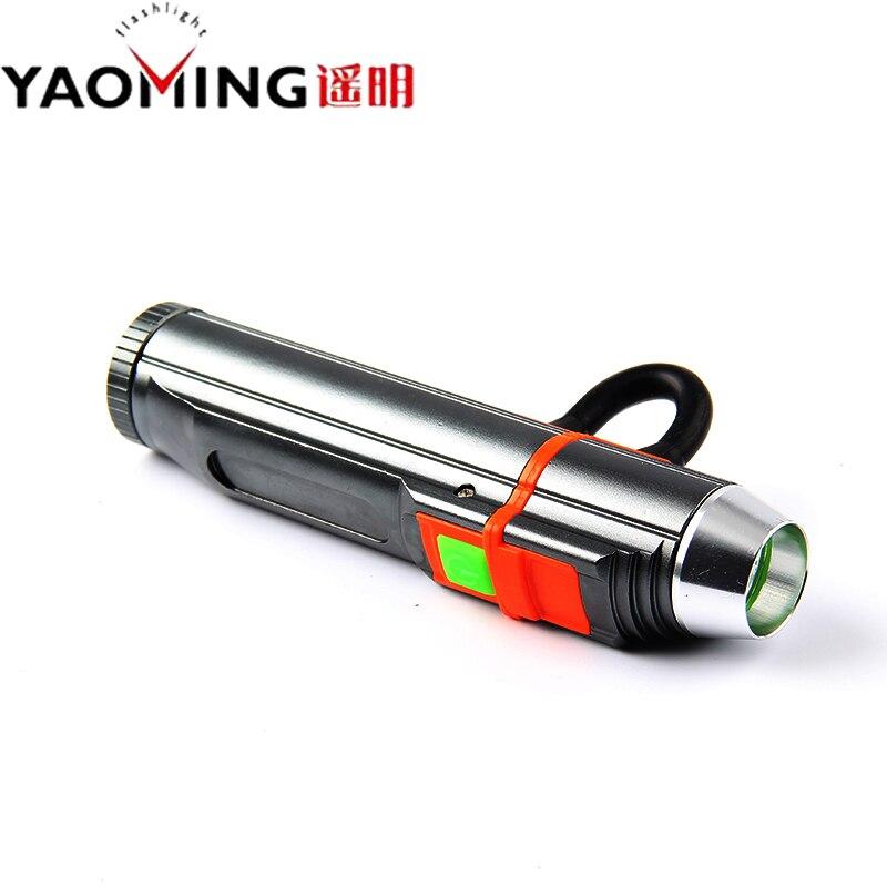 Банк силы Фонарик Cree Q5 <font><b>LED</b></font> Torch Лампы Lanterna Вспышка Света USB Аккумуляторная Фонарик С Магнитом Использовать Батарею 18650