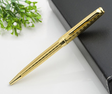 High-quality brands Gold Platinum stainless steel Business office Medium nib Ballpoint Pen