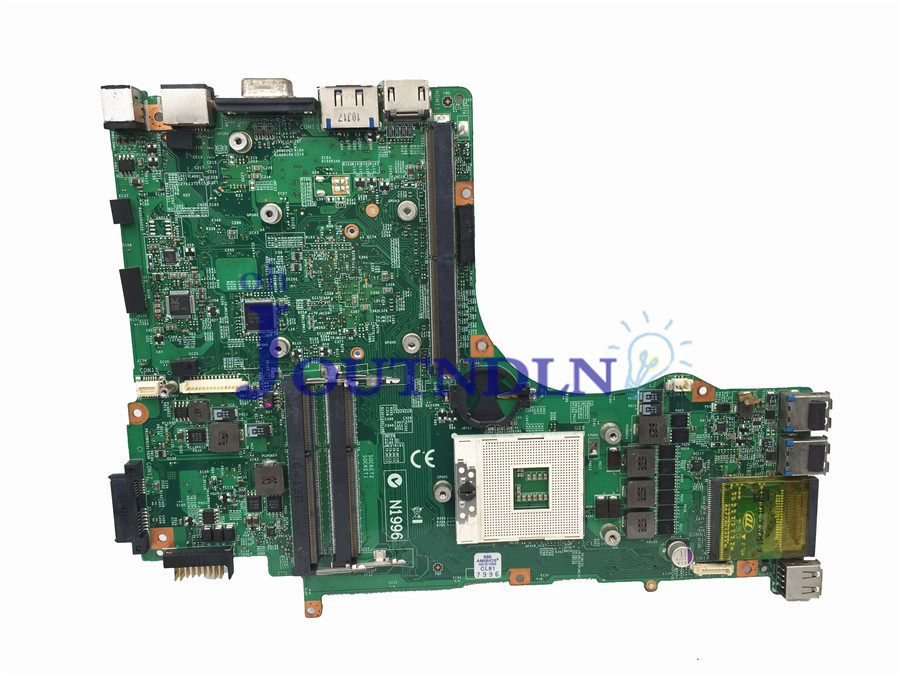 JOUTNDLN FOR MSI GX660R GT660 GT663 MS 16F1 Laptop motherboard MS 16F11 VER 1 1 PM55