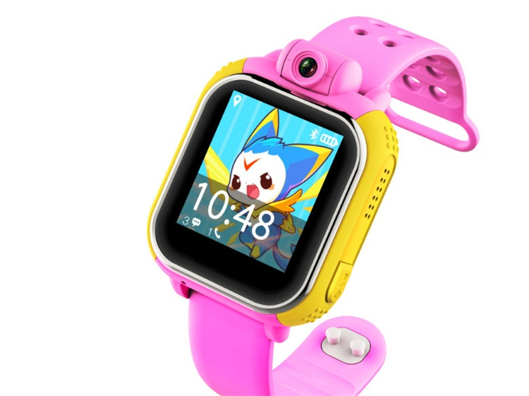 Mini kids watch Q100 OLED Baby GPS Watch SOS Emergency Anti Lost Smart Mobile Phone App Bracelet Wristband Two Way Communication smart baby watch g72 умные детские часы с gps розовые