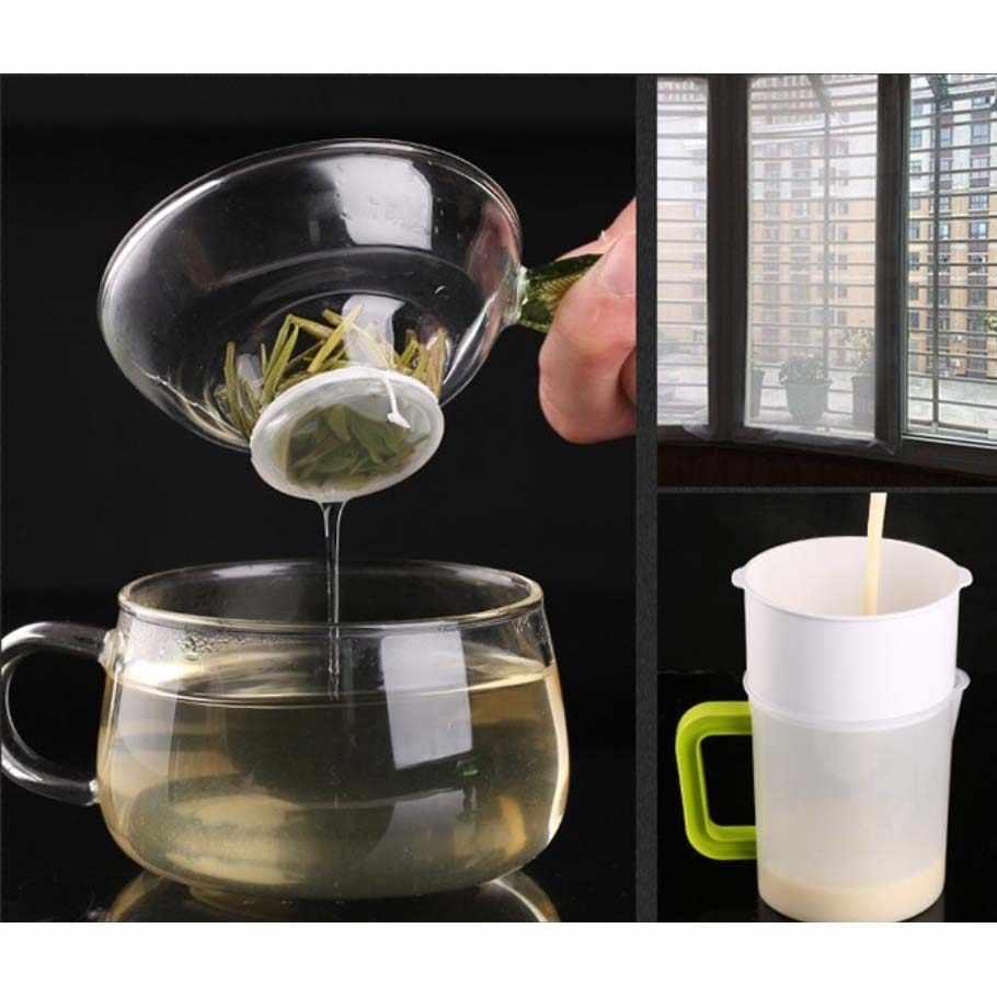 300 mesh/In 48 mikron gaze wasser nylon filter mesh soja bean farbe bildschirm kaffee wein net stoff industrie filter tuch 3 größe