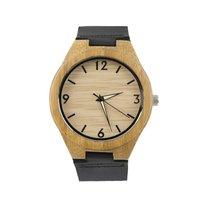 Vintage Wooden Dial Watch Quartz Watches Men Women Couple Watch White Pointer New Hot Selling