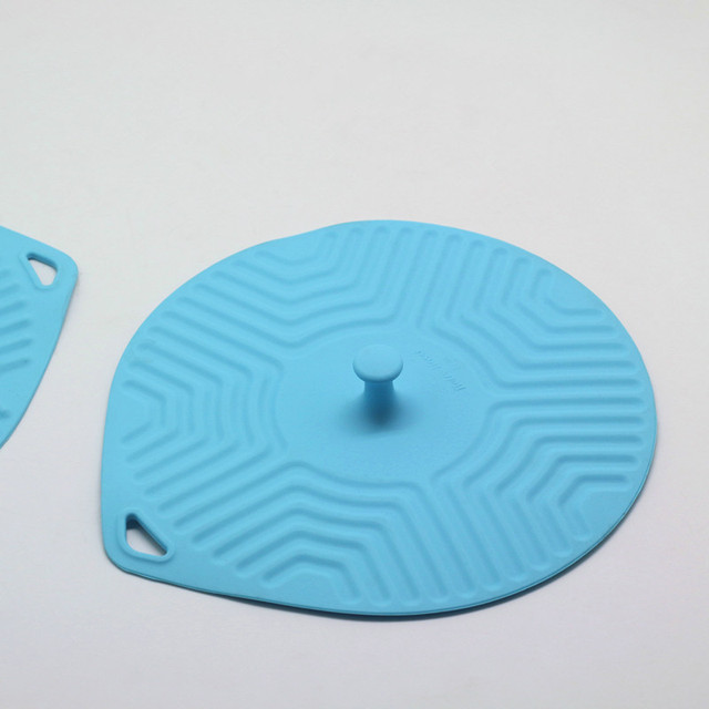 2pcs Set 7 8 Inch Flat Silicone Food And Bowl Cover Microwave Splatter Guard Kitchen Tool