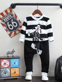 2016 new arrival kids clothes boys clothes,boys casual clothing set,classic striped,knitting sweater and pants -K110