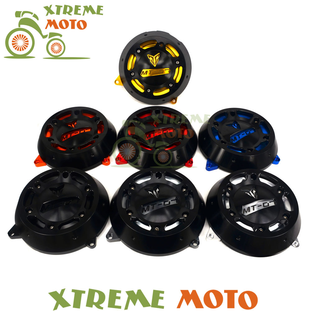 7 Color Red Orange Blue Gold Black Silver Titanium CNC Engine Stator Cover Protector For Yamaha MT-07 FZ-07 MT07 FZ07 14 15 16 7 color high quality aluminum engine stator case cover protective side protector for mt07 fz07 mt 07 fz 07 fz mt 2014 2015 2016