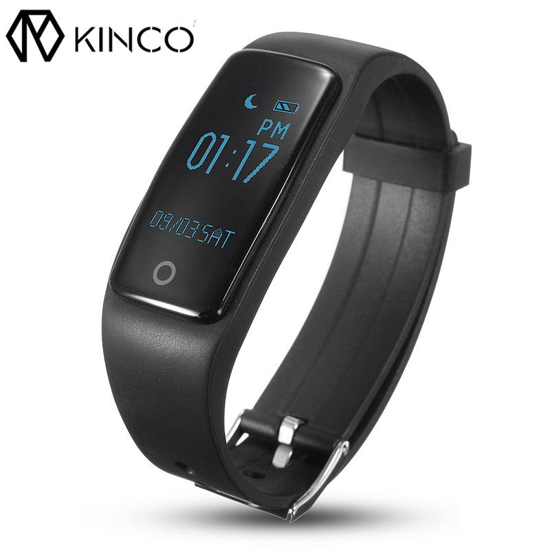 S1 0 96inch Bluetooth Waterproof IP67 Blood Pressure Heart Rate Monitor Pedometer Sport Smart Wristbands for