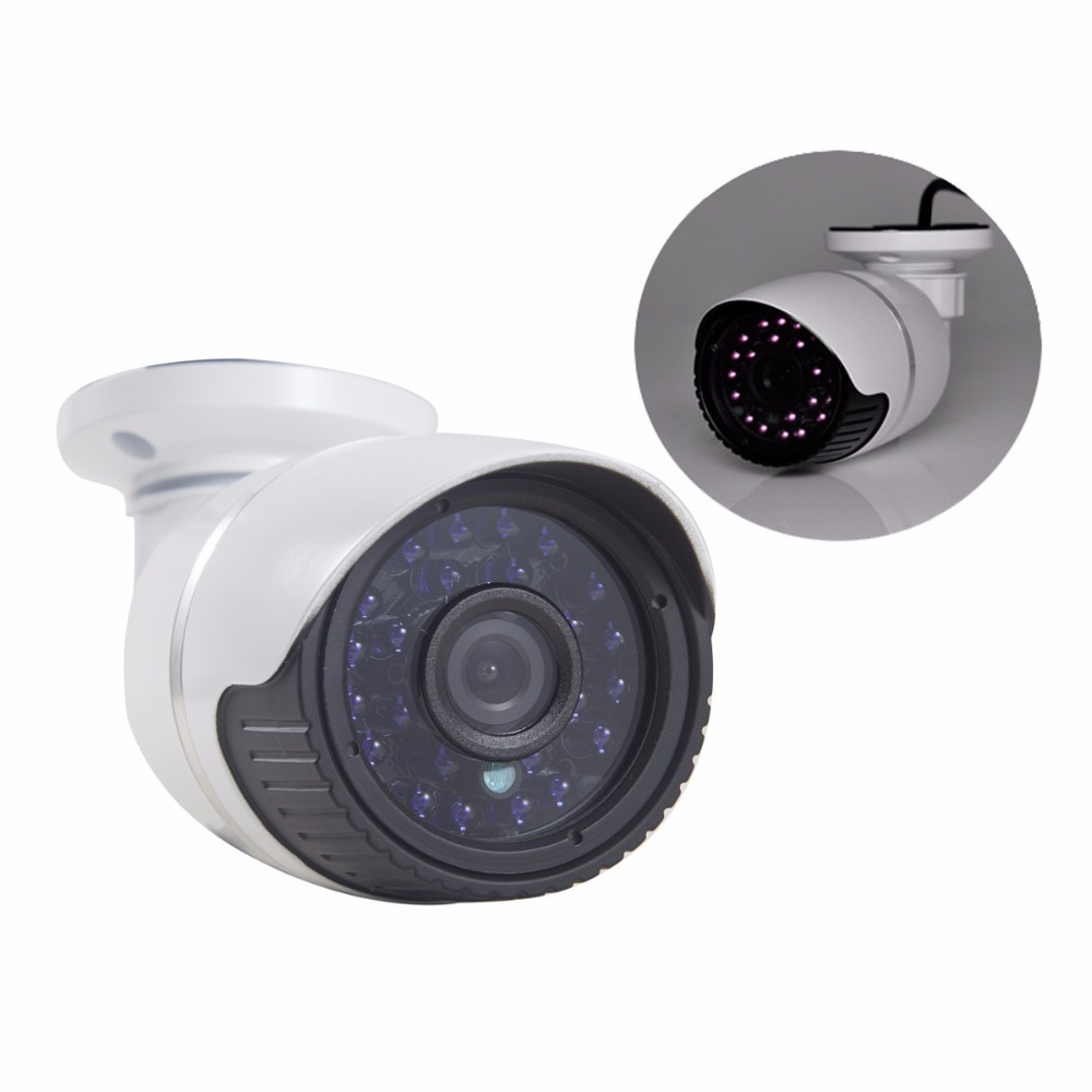 Security camera Surveillance White Outdoor Waterproof Night Vision CCTV ip camera outdoor HD Security USB 1280 x 960P wistino cctv camera metal housing outdoor use waterproof bullet casing for ip camera hot sale white color cover case