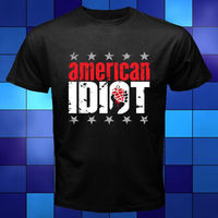 New Green Day American Idiot Punk Rock Band Black T Shirt Size S To 3XL Black