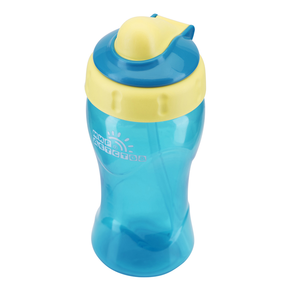 Bottles MIR DETSTVA for girls and boys 17052 Bottle Feeding Cup Baby With straw usb rechargeable 500ml healthy portable hydrogen rich water cup transparent glass bottle with lid