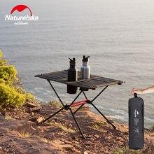 Naturehike легкий складной стол с подстаканниками портативный кемпинг столы складной стол поставляется в сумке для пикника и отдыха на природе Пляж