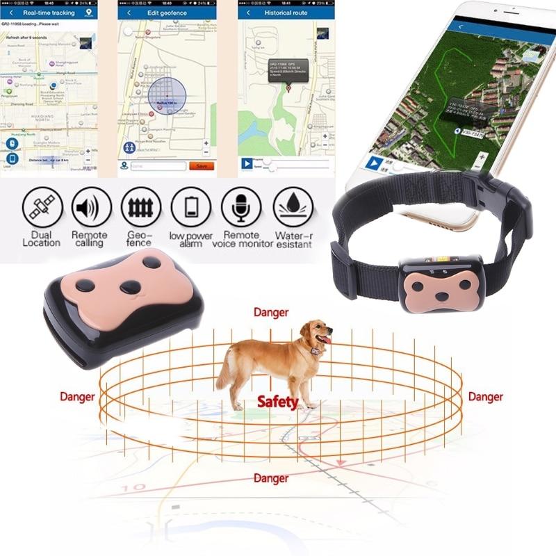 Портативный gps Tracker(gps трекер) для детей и животных , ID локатор отслеживания предотвращения потери поиск на приложении.
