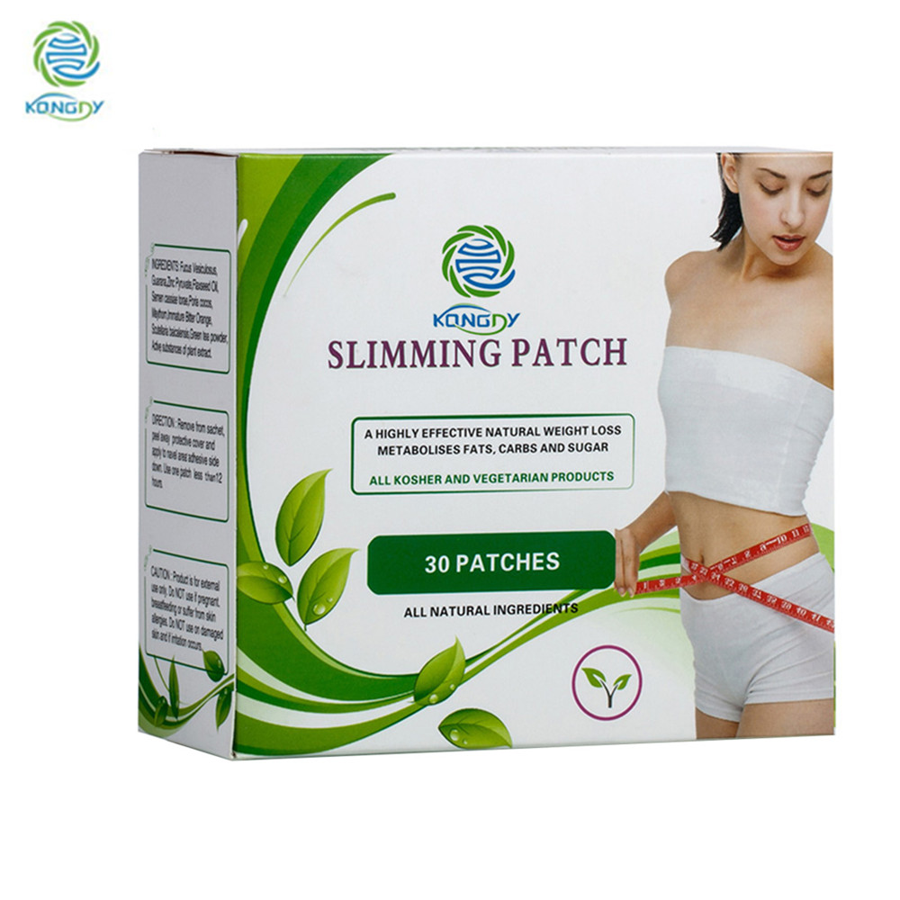 KONGDY Health Care Slimming Navel Stick 7x9 CM Slim Patch Weight Loss Burning Fat Patch 30 Pieces/Box Summer Clearance