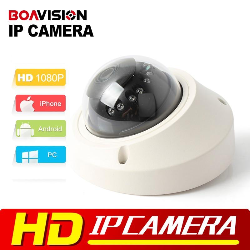 bilder für 1080 P Dome Ip-kamera 2MP POE Hohe Auflösung Echtzeit Video Dome Netzwerk Ir-kamera 3,6mm P2P Onvif P2P XMEYE Ansicht