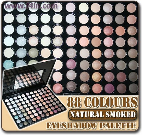 88 Brown Warm Colour Neutral Eyeshadow Palette Makeup Eye Shadow Set W88 Kit Free Shipping Whole