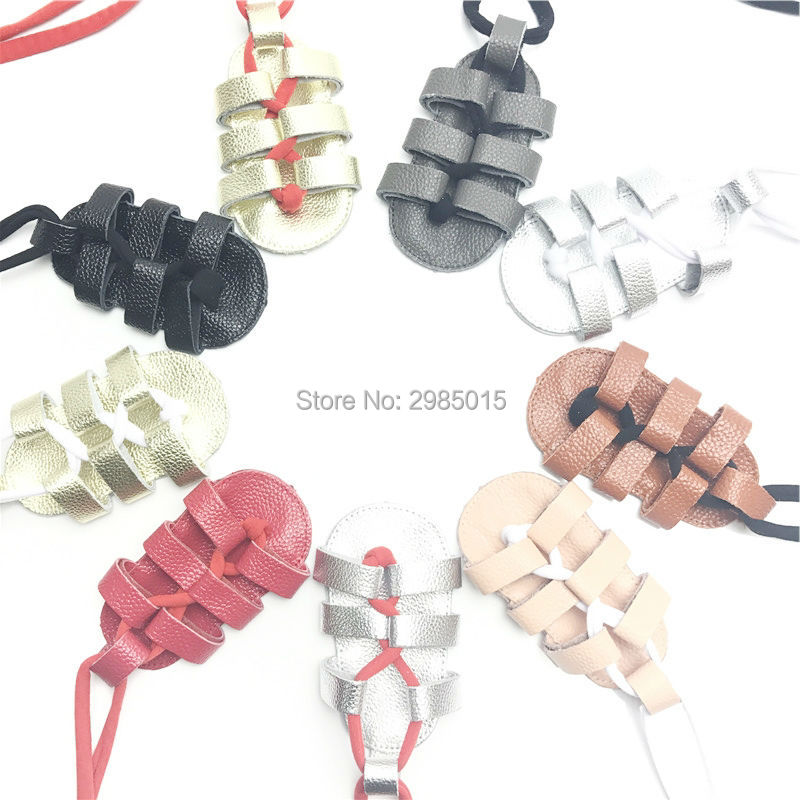 High Quality Genuine Leather Girls Baby Shoes Summer Bandage Newborn Shoes Fashion Boys Kids Gladiator Toddler Moccasins