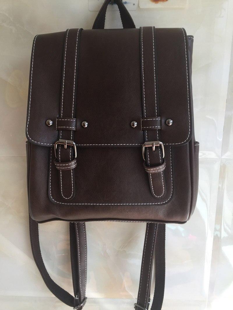 qualidade sacos de escola de couro para