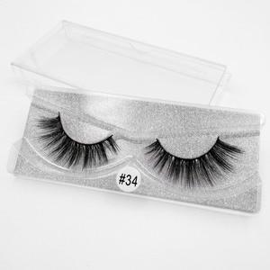 Image 5 - SHIDISHANGPIN 1 pair mink eyelashes  false eyelashes 3d false lashes 3d mink lashes false lashes mink 3d lashes faux cils