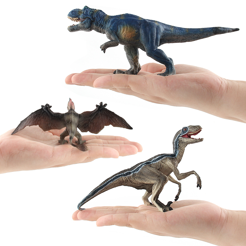 Action Figure Jurassic Dinosaur Model Animal Figures Plastic Simulation Collection Figure Christmas Gift Toys For Children #E цена