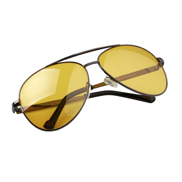 Hermie | Limited Edition Yellow Tinted Aviator Sunglasses