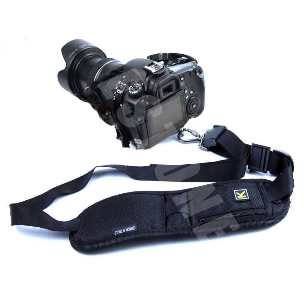 Быстрый Быстрое плеча Камера ремешок для Canon Nikon sony DSLR 2017 новое поступление