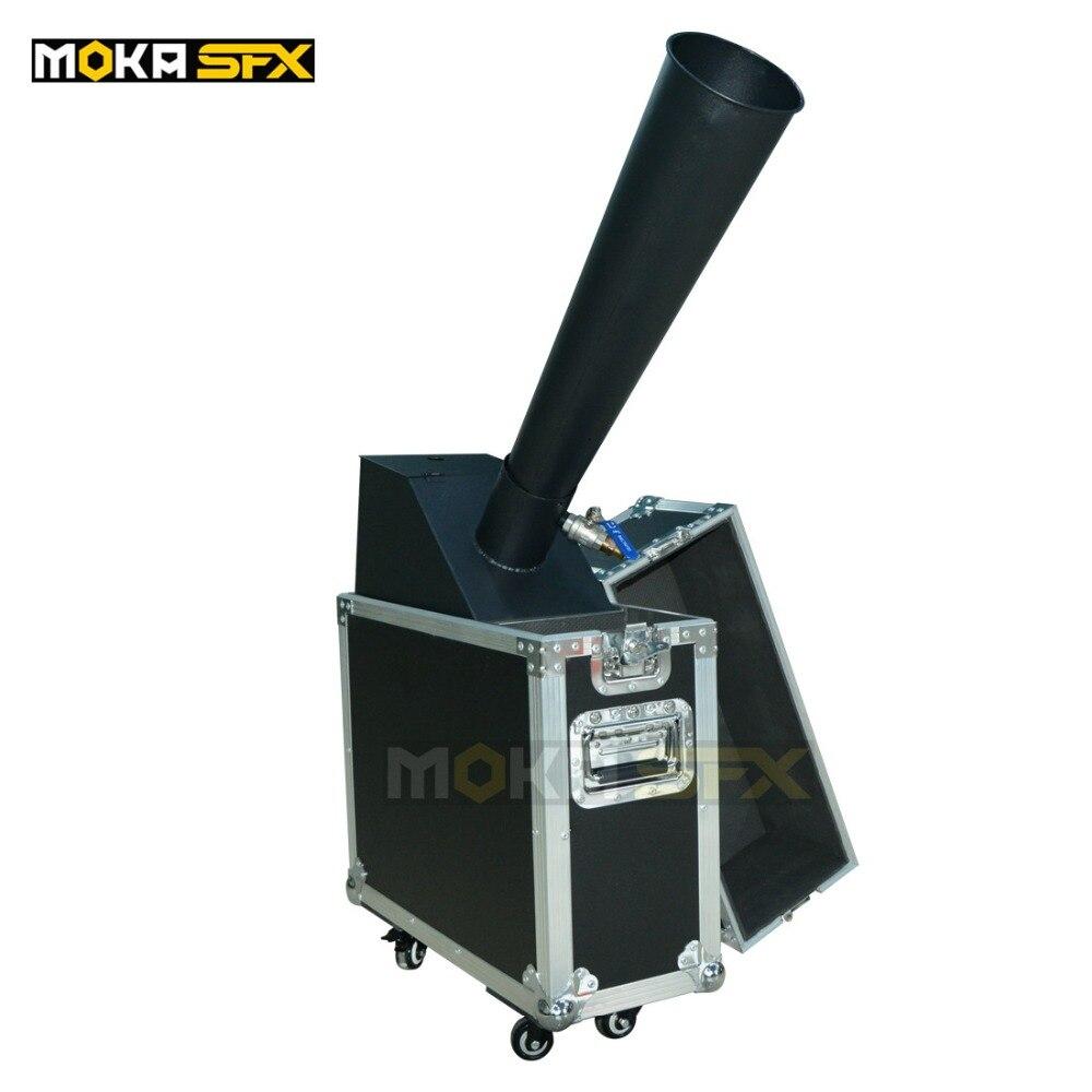 Co2 Confetti Machine Stage Effect Flight Case Packing Machine Mini Small Type Confetti Cannon Launcher Machine