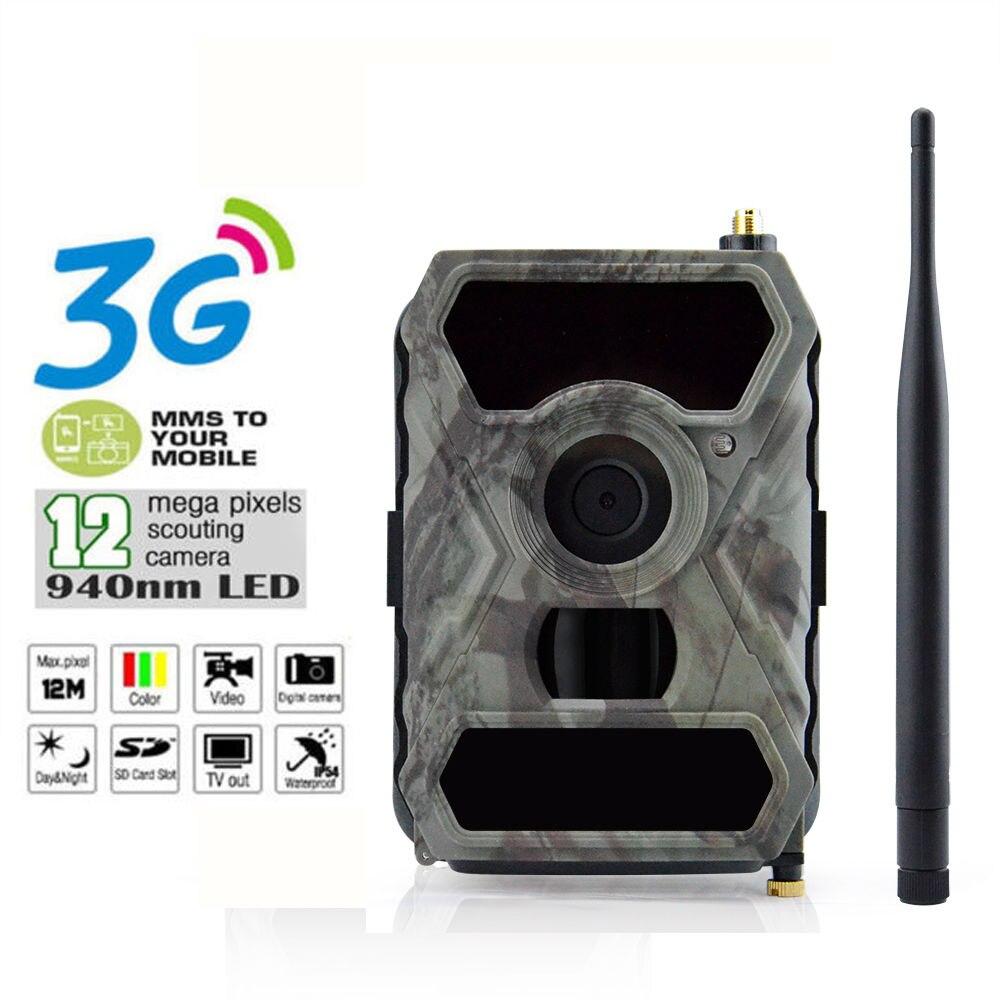 S880G 12MP HD 1080P Digital Hunting Camera 940NM Trail Game Camera 3G Network SMS/MMS Night Vision 56pcs IR LED simcom 5360 module 3g modem bulk sms sending and receiving simcom 3g module support imei change