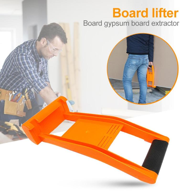 Floor Handling Board Gypsum Board Extractor For Plasterboard Glass Carry Density Board Tile Lifter Panel Carrier 80KG Load Tool